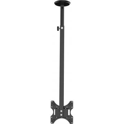 Vision flat panel plafond steun: 35 kg, 40″, VESA 100 x 100, 200 x 200, Black - Zwart