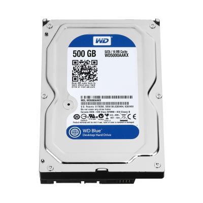Western Digital Blue 500GB Interne harde schijf - Zwart - Refurbished ZG