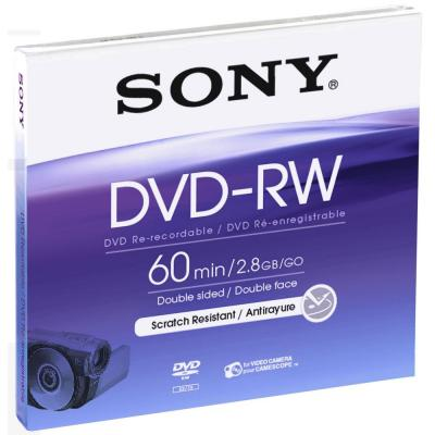 Sony DVD: 8-cm herschrijfbare 1000x-DVD-RW-disc, DMW60A.