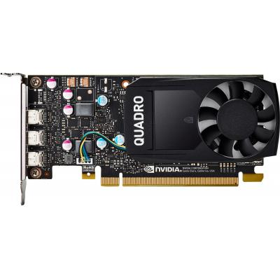 Hp videokaart: NVIDIA Quadro P400 2-GB grafische kaart
