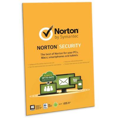 Symantec software: Norton Security 2.0, 1 gebruiker, 1 jaar (Nederlands)