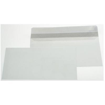 Gallery envelop: Ft 110 x 220 mm (DL) strip, zonder venster (dispenserdoos) - Wit