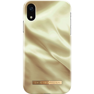 IDeal of Sweden Fashion Backcover iPhone Xr - Honey Satin Mobile phone case