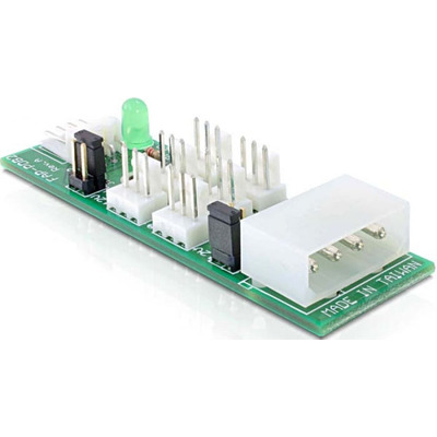DeLOCK Distribution Board 6x fan 5V/12V Interfaceadapter