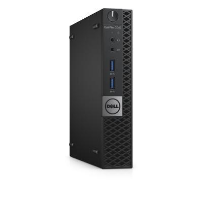 Dell pc: OptiPlex 3040m - Core i5 - 4GB Ram - 500GB - Zwart