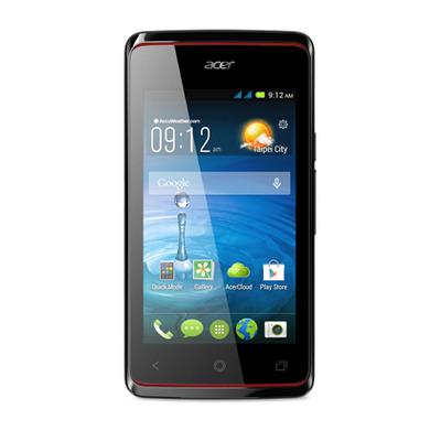 Acer smartphone: Liquid Liquid Z200 - Zwart 4GB