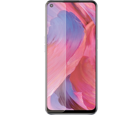 Azuri Voor Oppo A54/A74 (5G), Glass, 0.33 mm Screen protector - Transparant