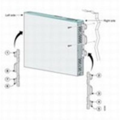 Cisco montagekit: Locking wall-mounting kit - Wit