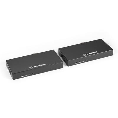 Black Box HDMI 2.0, HDCP 2.2, 3-pin Phoenix, 150x74.4x20 mm AV extender - Zwart