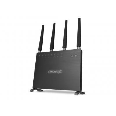 Sitecom wireless router: Greyhound AC2600 Wi-Fi Router - Grijs
