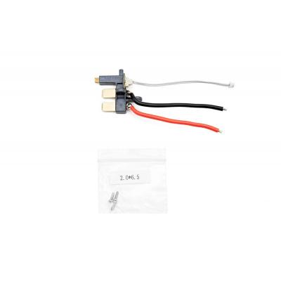 Dji : Phantom 3 - Aircraft Power Port Module - Zwart, Rood, Wit