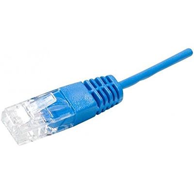 Connect 0.5 m RJ45/RJ45 UTP 1P 100 Ohms, Blue Telefoon kabel - Blauw