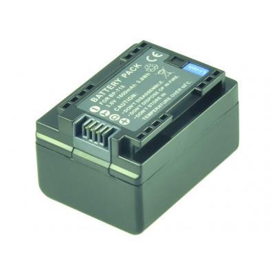 2-power batterij: 3.6V, 1600mAh - Zwart