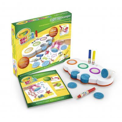 Crayola : Color Wonder - Light-up Stamper - Multi kleuren