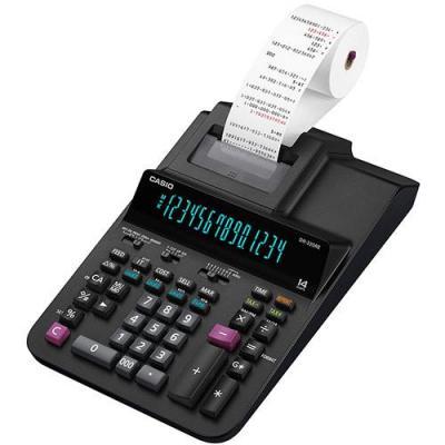 Casio CS-DR-320RE, AC, 3.5 Lines/Sec, 58 mm, 1400 g, 111x205x377 mm, Black Calculator - Zwart