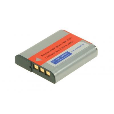 2-power batterij: DBI9714A - Zwart, Grijs, Rood