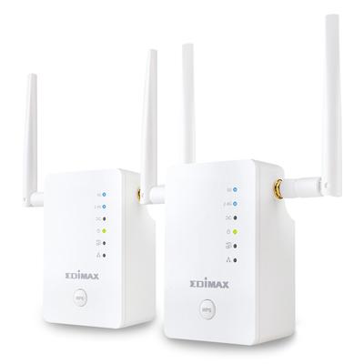 Edimax Gemini RE11 AC1200 Netwerk verlenger - Wit