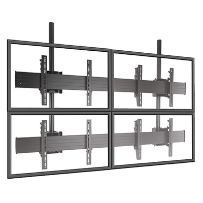 Chief FUSION Micro-Adjustable Large Ceiling Mounted 2 x 2 Video Wall Solutions Montagehaak - Zwart