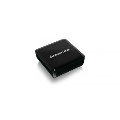 Iogear bluetooth music receiver: TuneTap - Zwart