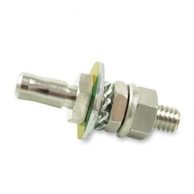 Baaske Medical PE panel connector complete 6/20 Elektrische complete connector - Metallic
