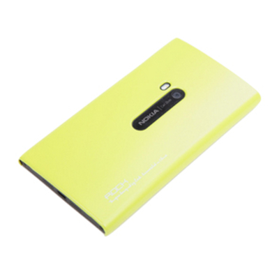 ROCK Cover Naked Nokia Lumia 920 Yellow Mobile phone case - Geel