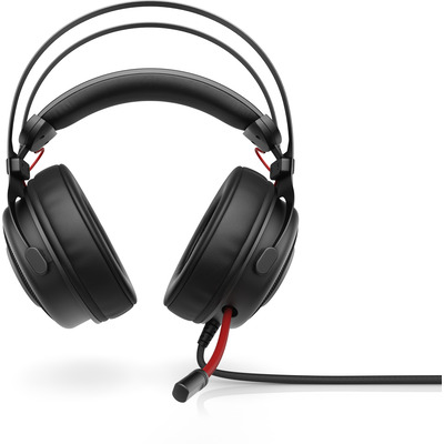 HP Omen 800 Headset - Zwart,Rood