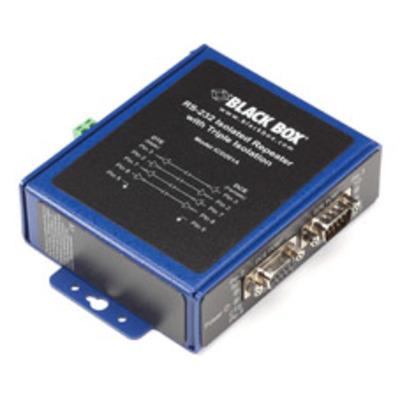 Black Box ICD201A Seriele converter/repeator/isolator - Zwart, Blauw