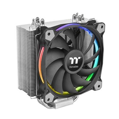 Thermaltake Riing Silent 12 RGB Sync Edition Hardware koeling - Zwart, Metallic