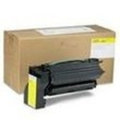 InfoPrint Cartridge for IBM Color 1654/1664, Yellow, 10000 Pages Toner - Geel