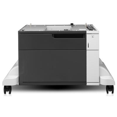 HP LaserJet 1x500-sheet invoerlade met kast en standaard Papierlade