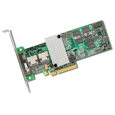 Acer SAS RAID PCI Card 6Gb/s. 8 Internal ports, PCI-E 2.0 x8, RAID 0/1/10/5/50/6/60, 512MB cache raid controller