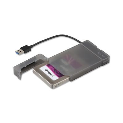 """I-tec MySafe USB 3.0 Easy 2.5"""" External Case – Black Behuizing - Zwart"""