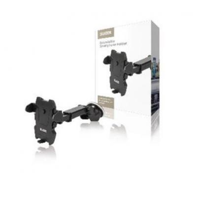 Sweex Universal Smartphone Mount In-Car Window Black Montagekit - Zwart
