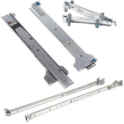 DELL 2/4-Post Static Rack Rails - Kit Rack toebehoren - Zilver