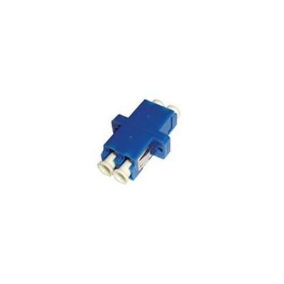 Microconnect fiber optic adapter: LC Singlemode Duplex Adapter - Blauw