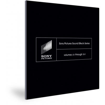 Magix audio software: Sony Pictures Sound Effects Series: Volumes Six through Ten