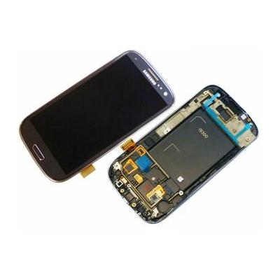Samsung mobile phone spare part: GT-i9500 Galaxy S4, display, touchscreen, black