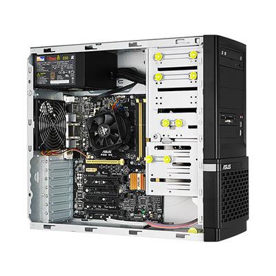 Asus server barebone: ESC500 G3 - Zwart