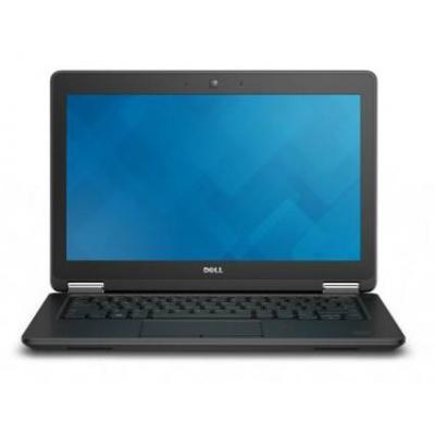 Dell laptop: Latitude E7250 - Core i5 - 8GB RAM - 256GB - Zwart