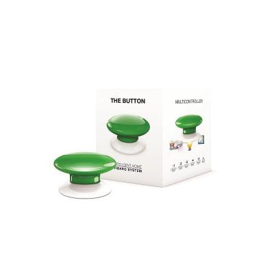Fibaro : The Button - Groen, Wit