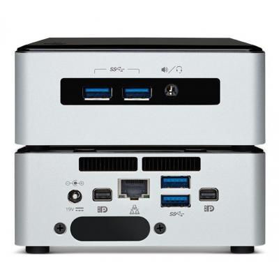 Vision i5 4K vPro VMP mediaspeler - Zwart, Zilver