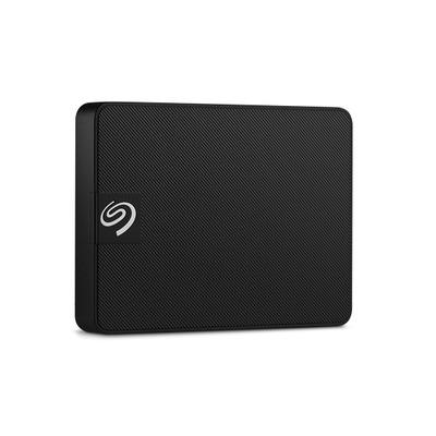 "Seagate Expansion SSD, 2.5"", 400MB/s, Black, 1TB - Zwart"