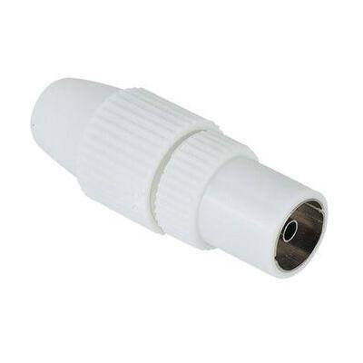 Hama coaxconnector: Antenna Female Jack, Coaxial, Clamp Type