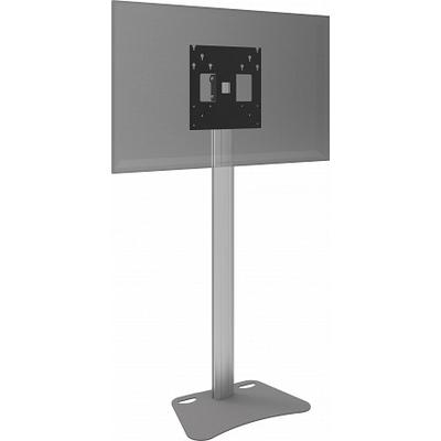 SmartMetals Statief (light) incl. bracket max. VESA 400 voor flatscreen TV standaard - Aluminium, Grijs