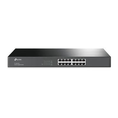 TP-LINK 16 10/100/1000Mbps RJ45 ports Switch - Zwart