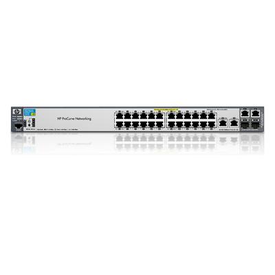Hewlett Packard Enterprise ProCurve 2520-24-PoE Switch - Zwart