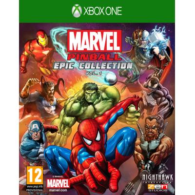 505 games game: Marvel Pinball  Xbox One
