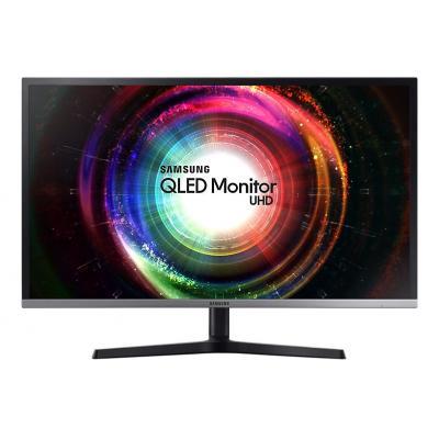 Samsung monitor: U32H850 - Zwart, Zilver