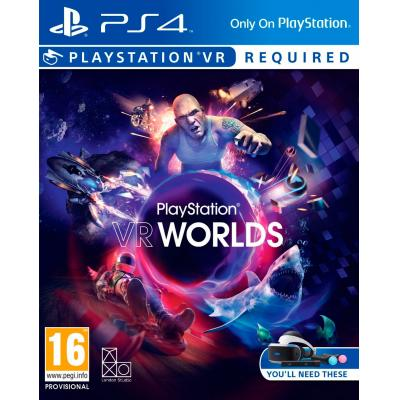 Sony game: Special Price - PlayStation VR Worlds  PS4