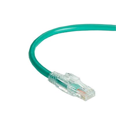Black Box GigaTrue 3 Lockable Patch Cable, LSZH, Rj45/Rj-45, Male/Male, 550MHz, 5m Netwerkkabel - Groen